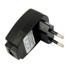 USB Mains Charger Adapter -  European 2-Pin