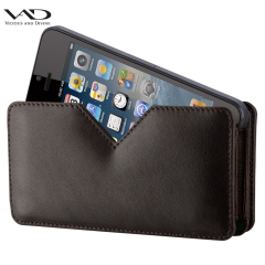 VAD Superior Leather Comfort Holster for IPhone 5S / 5C/ 5 - Black