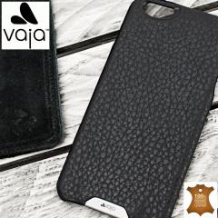 Vaja Grip iPhone 6S Plus / 6 Plus Premium Leather Case - Black / Rosso