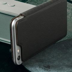 Vaja Slim Pelle iPhone 6S Plus / 6 Plus Premium Leather Case - Black