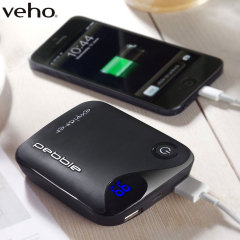 Veho Pebble Explorer 8,400mAh Portable Charger - Black