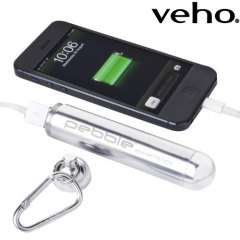 Veho Pebble Smartstick Plus 2800 mAh  - Silver