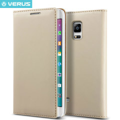 Verus Crayon Diary Samsung Galaxy Note Edge Leather-Style Case - Brown