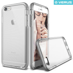 Verus Crystal Bumper iPhone 6S / 6 Case - Light Silver