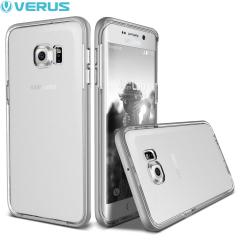 Verus Crystal Bumper Samsung Galaxy S6 Edge Plus Case - Light Silver