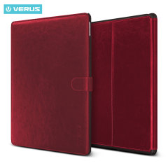 Verus Dandy Leather Style iPad Pro 12.9 inch Case - Wine