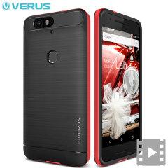 Verus High Pro Shield Series Nexus 6P Case - Crimson Red