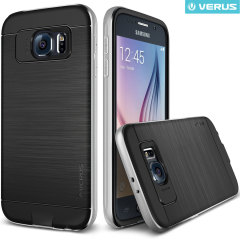 Verus Iron Shield Samsung Galaxy S6 Case - Satin Silver