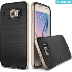 Verus Iron Shield Samsung Galaxy S6 Case - Shine Gold