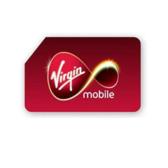 Virgin Mobile Pay as you go SIM card pack