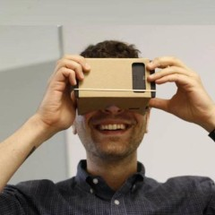 Virtual Reality Google Compatible Cardboard 3D Glasses with NFC Tag