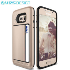 VRS Design Damda Clip Samsung Galaxy S7 Case - Shine Gold