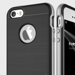 VRS Design High Pro Shield iPhone SE Case - Satin Silver