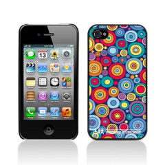 Watford Workshop iPhone 4S / 4 Hard Back Case - Circles