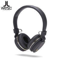 Wesc Cymbal Mic & Volume Control Premium Headphones - Black