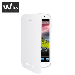 Wiko Folio Case for Wiko Cink Five - White