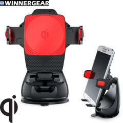 Winnergear Montar Air Wireless Qi Charging Smartphone Car Mount