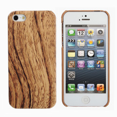 Wood Effect Hard Case for iPhone 5S / 5
