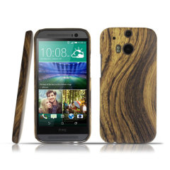 Wood Effect HTC One M8 Hard Case