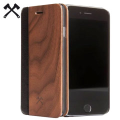 Woodcessories EcoFlip Comfort Wooden iPhone 6S/6 Plus Case - Walnut