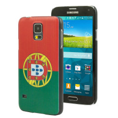 World Cup Flag Samsung Galaxy S5 Case - Portugal