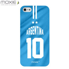World Cup iPhone 5S / 5 Football Shirt Case - Argentina
