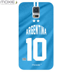 World Cup Samsung Galaxy S5 Football Shirt Case - Argentina