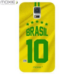 World Cup Samsung Galaxy S5 Football Shirt Case - Brazil
