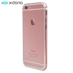 X-Doria Bump Gear iPhone 6S Plus Bumper Case - Rose Gold