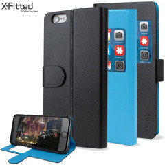 X-Fitted Magic Colour iPhone 6S Plus / 6 Plus View Case - Black / Blue