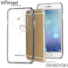 X-Fitted Telesthesia iPhone 6S / 6 Case w/ Swarovski Elements - Silver