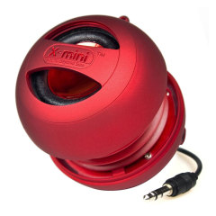 XMI X-mini II Mini Speaker - Red
