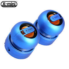 XMI X-Mini Max Duo Rechargeable Speaker - Blue