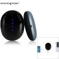 Xoopar BEAM 2S 2500mAh External Power Bank & Hand Warmer - Black