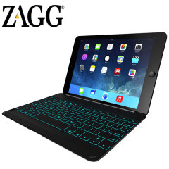 ZAGGkeys Bluetooth Keyboard Cover for iPad Air - Black