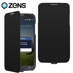 ZENS Fast Wireless Charging Flip Case for Samsung Galaxy S4 - Black