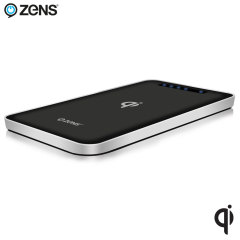 Zens Qi Wireless Charging 4,500mAh Power Bank - Black