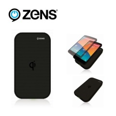 Zens Qi Wireless Charging Pad USB - Black