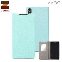 Zenus Avoc Sony Xperia Z2 Mirror Diary Case - Mint