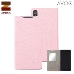 Zenus Avoc Sony Xperia Z2 Mirror Diary Case - Pink