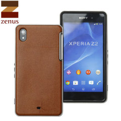 Zenus Barcelona Xperia Z2 Case - Brown