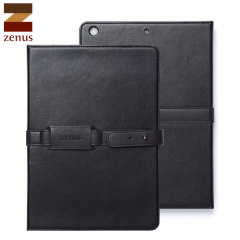 Zenus Belted Diary Case iPad Air - Black