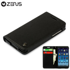 Zenus Blackberry Z10 Minimal Diary Series Case - Black
