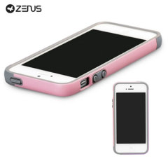 Zenus Bumper Trio Series Case for iPhone 5S / 5 - Pink/Purple
