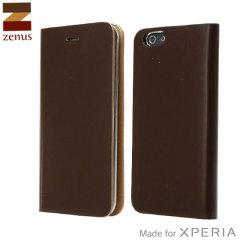 Zenus Diana Diary Sony Xperia Z3 Case - Brown