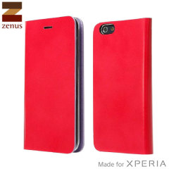 Zenus Diana Diary Sony Xperia Z3 Case - Rose Red
