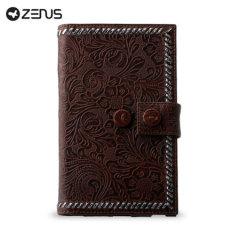 Zenus Galaxy Note Prestige Italian Carved Diary - Black Chocolate