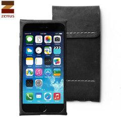 Zenus Italian Alpla Leather Classy iPhone 6S / 6 Pouch - Black