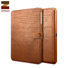 Zenus Lettering Diary for Samsung Galaxy Note 10.1 2014 - Brown