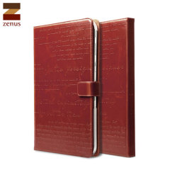 Zenus Lettering Diary for Samsung Galaxy Tab 3 10.1 - Wine